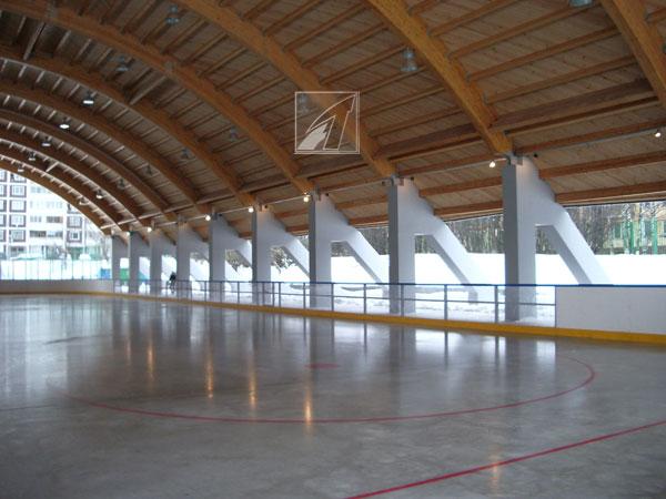Хоккейные площадки. Хоккейная коробка.